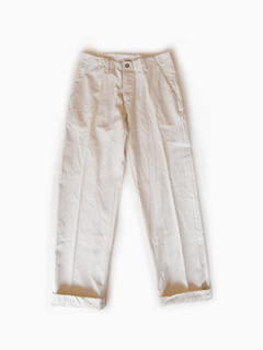 dejeuner × RECTOHALL cotton pants